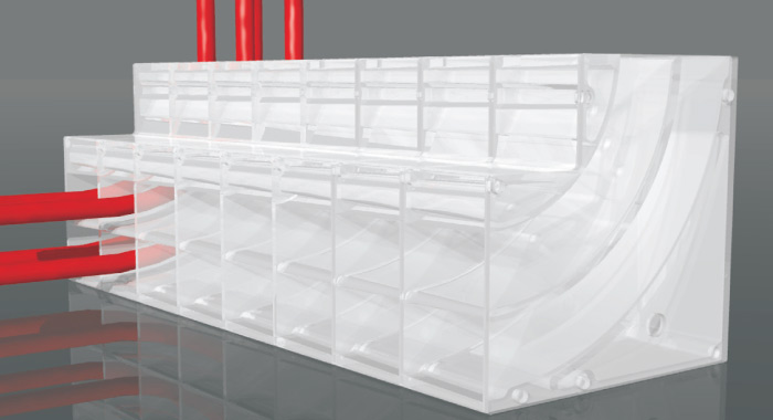 PEX-Pal ~ In-Floor Heating Organizer / Collector ~ AXIOM